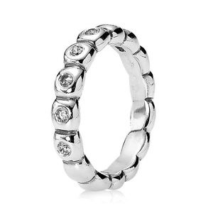 PRACTICALLY New Authentic retired stackable ring